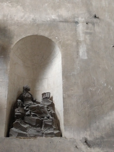Sculpture in Church, Bordeaux
